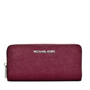 Michael Kors Burgundy Leather Wallet / Clutch
